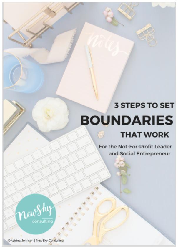 3 Steps to setting boundaries